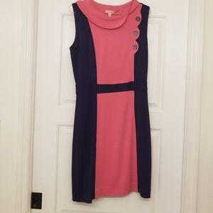 Pink and blue lilly pulitzer large dress